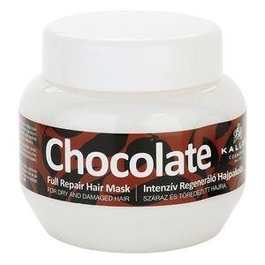Kallos Chocolate regeneráló maszk száraz és sérült hajra 275 ml kép