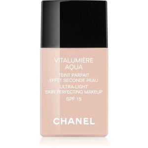 Chanel Vitalumière Aqua ultra könnyű make-up a ragyogó bőrért kép