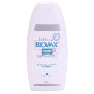 L'biotica Biovax Keratin & Silk erősítő sampon keratin komplexszel 200 ml kép