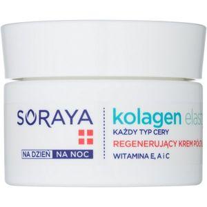 Soraya Collagen & Elastin regeneráló arckrém vitaminokkal 50 ml kép