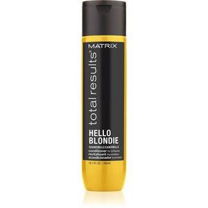 Matrix Total Results Hello Blondie védő kondicionáló szőke hajra 300 ml kép