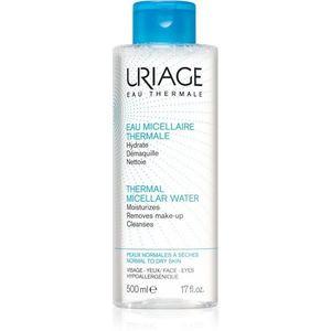 Uriage Hygiène Thermal Micellar Water - Normal to Dry Skin micellás víz normál és száraz, érzékeny bőrre normál és száraz bőrre 500 ml kép