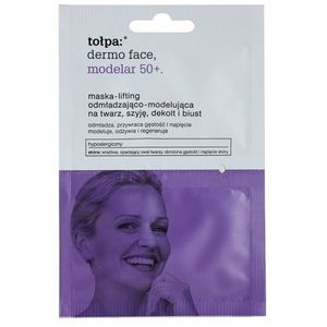 Tołpa Dermo Face Modelar 50+ liftinges feszesítő maszk arcra, nyakra és dekoltázsra 2 x 6 ml kép