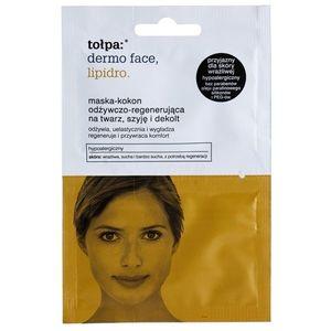 Tołpa Dermo Face Lipidro regeneráló maszk arcra, nyakra és dekoltázsra 2 x 6 ml kép