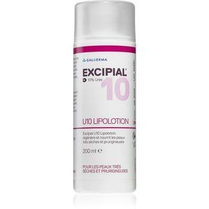 Excipial M U10 Lipolotion tápláló testápoló tej a száraz és érzékeny bőrre 200 ml kép