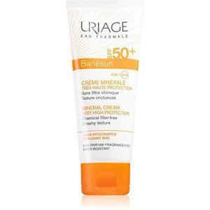 Uriage Bariésun Mineral Cream SPF 50+ ásványi védőkrém arcra és testre SPF 50+ vízálló 100 ml kép