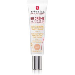 Erborian BB Cream tonizáló krém a bőr tökéletes külalakjáért SPF 20 kis csomagolás árnyalat Clair 15 ml kép