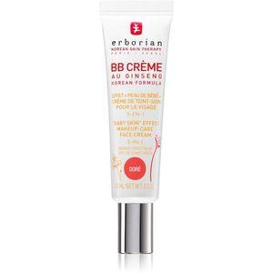 Erborian BB Cream tonizáló krém a bőr tökéletes külalakjáért SPF 20 kis csomagolás árnyalat Doré 15 ml kép
