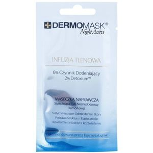 L'biotica DermoMask Night Active oxigenizáló maszk 12 ml kép