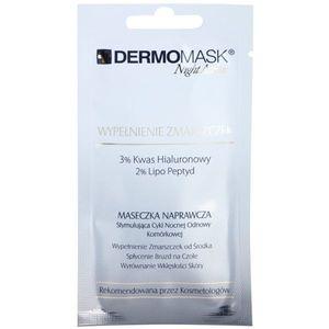 L'biotica DermoMask Night Active feltöltő maszk ránctalanító mély 12 ml kép