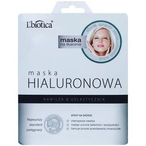 L'biotica Masks Hyaluronic Acid hidratáló és bőrpuhító arcmaszk 23 ml kép