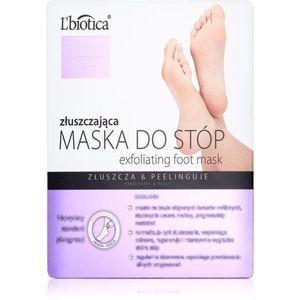 L'biotica Masks bőrhámlasztó zokni a láb bőrének puhítására és hidratálására 40 ml kép