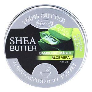 Topvet Shea Butter shea vaj Aloe Vera tartalommal 100 ml kép