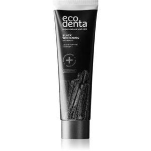 Ecodenta Expert Black Whitening fekete fogfehérítő fogkrém fluoridmentes 100 ml kép