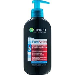 Garnier Pure Active tisztító gél mitesszerekre és pattanásokra 200 ml kép