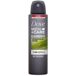 Dove Men+Care Elements izzadásgátló spray dezodor 48h Minerals + Sage 150 ml kép