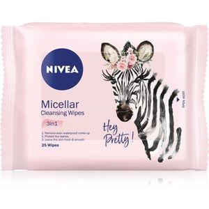 Nivea Micellar tisztító papírtörlők az arcra 3 az 1-ben 25 db kép