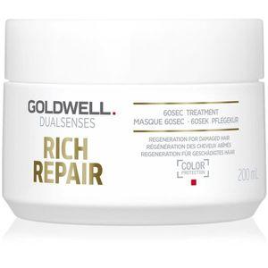 Goldwell Dualsenses Rich Repair maszk száraz és sérült hajra 200 ml kép