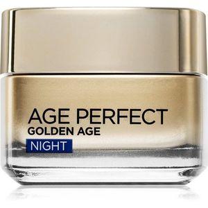 L'Oréal Paris Age Perfect Golden Age éjszakai ránctalanító krém érett bőrre 50 ml kép