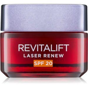 L'Oréal Paris Revitalift Laser Renew ránctalanító nappali arckrém, SPF 20 50 ml kép