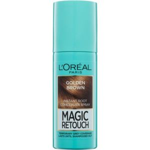 L'Oréal Paris Magic Retouch azonnali hajtőszínező spray árnyalat Golden Brown 75 ml kép
