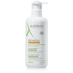 A-Derma Exomega hidratáló testápoló tej nagyon száraz, érzékeny és atópiás bőrre 400 ml kép