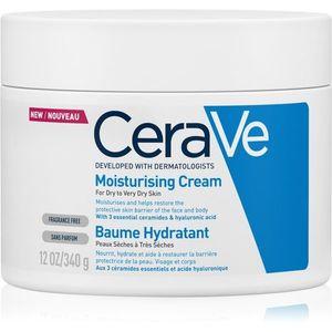 CeraVe Moisturizers hidratáló krém arcra és testre Száraz, nagyon száraz bőrre 340 g kép