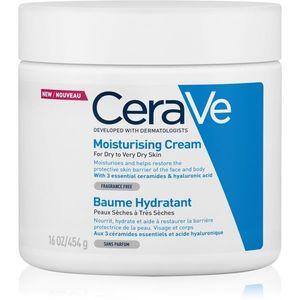 CeraVe Moisturizers hidratáló krém arcra és testre Száraz, nagyon száraz bőrre 454 g kép
