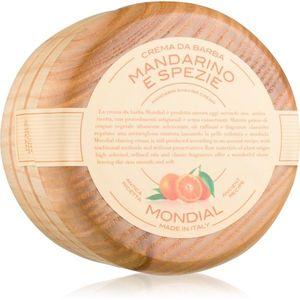 Mondial Luxury Wooden Bowl borotválkozási krém Mandarine and Spice 140 ml kép