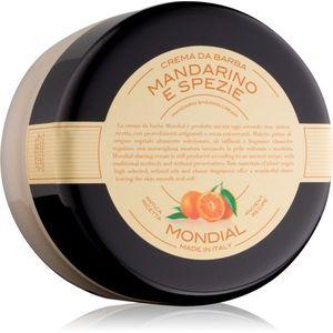 Mondial Luxury Bicolor borotválkozási krém Mandarin and Spice 150 ml kép