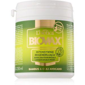 L'biotica Biovax Bamboo & Avocado Oil regeneráló maszk hajra 250 ml kép