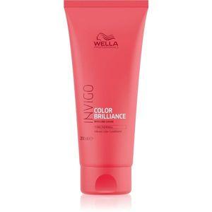 Wella Professionals Invigo Color Brilliance kondicionáló normál és festett hajra 200 ml kép