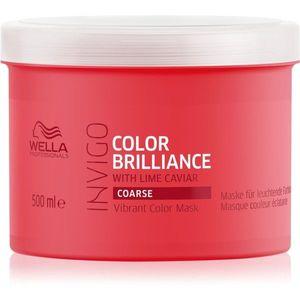 Wella Professionals Invigo Color Brilliance Maszk vastag festett hajra 500 ml kép
