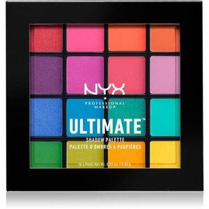 NYX Professional Makeup Ultimate Shadow szemhéjfesték paletta kép