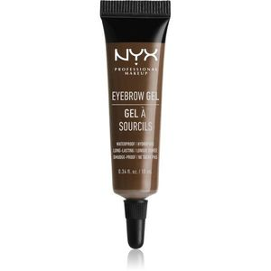 NYX Professional Makeup Eyebrow Gel Szemöldökformázó zselé árnyalat 04 Espresso 10 ml kép