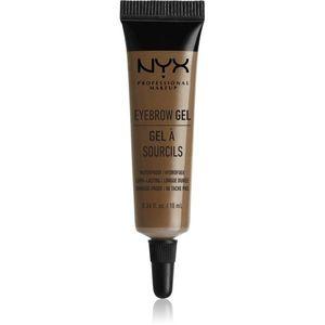 NYX Professional Makeup Eyebrow Gel Szemöldökformázó zselé árnyalat 03 Brunette 10 ml kép