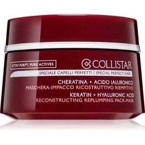 Collistar Special Perfect Hair Keratin+Hyaluronic Acid Mask intenzív regeneráló maszk a sérült, töredezett hajra 200 ml kép