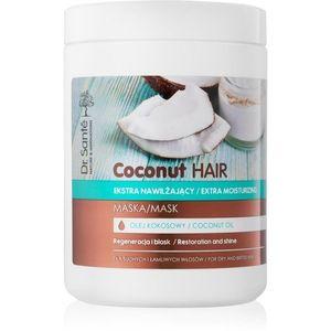 Dr. Santé Coconut hidratáló maszk a száraz és törékeny haj fényéért 1000 ml kép