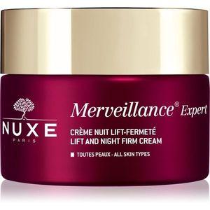 Nuxe Merveillance Expert éjszakai bőrfeszesítő krém lifting hatással 50 ml kép