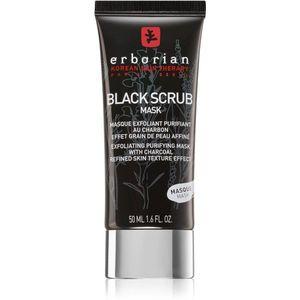 Erborian Black Scrub Mask hámlasztó tisztitó arcmaszk 50 ml kép