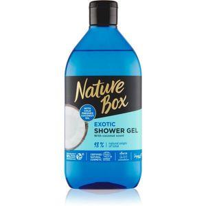 Nature Box Coconut felfrissítő tusfürdő gél hidratáló hatással 385 ml kép