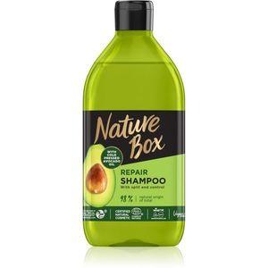 Nature Box Avocado mélyregeneráló sampon a töredezett hajvégekre 385 ml kép