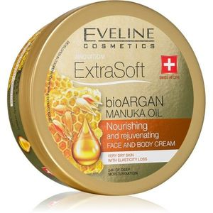 Eveline Cosmetics Extra Soft hidratáló krém arcra és testre Argán olajjal 175 ml kép