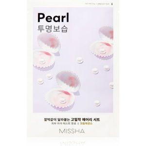 Missha Airy Fit Pearl hidratáló és élénkítő arcmaszk 19 g kép