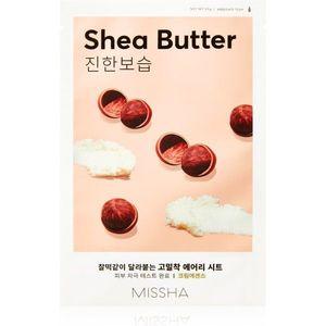 Missha Airy Fit Shea Butter mélyhidratáló és tápláló arcmaszk 19 g kép