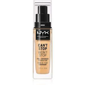 NYX Professional Makeup Can't Stop Won't Stop Magas fedésű alapozó kép