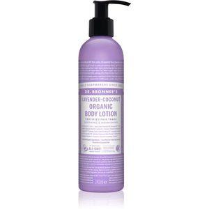Dr. Bronner's Lavender & Coconut intenzíven tápláló testápoló tej normál és száraz bőrre 240 ml kép