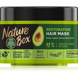 Nature Box Avocado intenzív regeneráló maszk a károsult hajra 200 ml kép