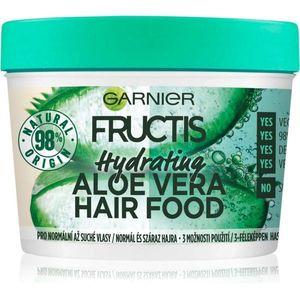 Garnier Fructis Aloe Vera Hair Food hidratáló maszk normál és száraz hajra 390 ml kép