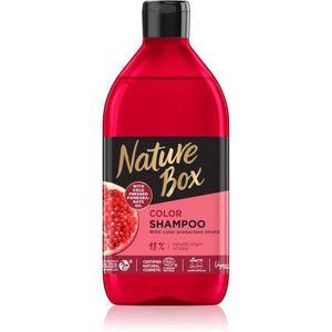 Nature Box Pomegranate hidratáló és revitalizáló sampon a szín védelméért 385 ml kép